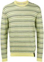 Kenzo striped jumper - men - Cotton/Polyamide/Spandex/Elastane - S