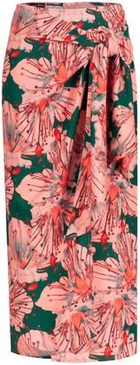 Marianna Déri Jana Wrap Skirt Orchid