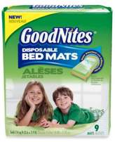 Bed Bath & Beyond GoodNites Disposable 9-Pack Bed Mats