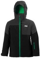 Helly Hansen Boy's 'Jr. Rider' Waterproof & Windproof Insulated Hooded Jacket