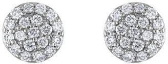 Heritage 18K 0.47 Ct. Tw. Diamond Cluster Earrings