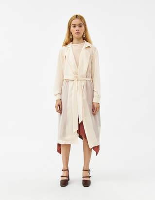 Farrow Edith Sheer Trench Jacket in Cream