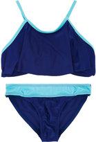 Duskii Girl - colour block bikini - kids - Polyester/Spandex/Elastane - 8 yrs