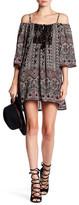 Angie Open Crochet Cold Shoulder Dress