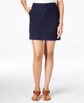 Tommy Hilfiger Chino Mini Skirt