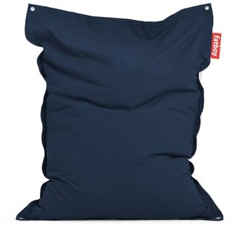 Fatboy Original Floatzac Large Sunbrella Outdoor Friendly Bean Bag Lounger Upholstery Color: Navy Blue