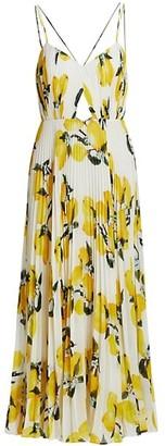 AMUR Lucy Floral Maxi Dress