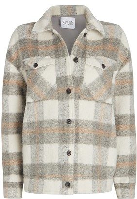 Saylor Layton Checked Shirt Jacket