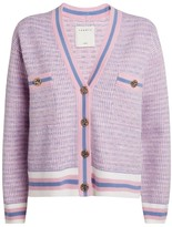 Sandro Paris Stripe-Trim Cardigan