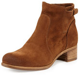 Alberto Fermani Viola Tabbed Suede Ankle Boot