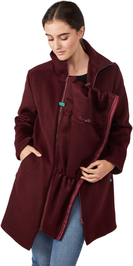 Thumbnail for your product : Modern Eternity 3-in-1 Maternity Wool Blend Coat