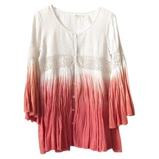 Tularosa Orange Cotton Dress for Women