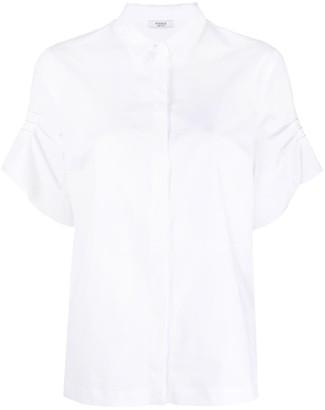 Peserico Buttoned Short-Sleeve Shirt