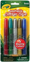 Crayola Washable Glitter Glue Pens .35Oz