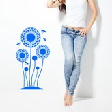 Madaye Dandelion wall stickers living room sofa removable waterproof stickers