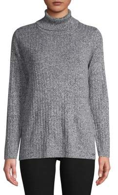 Calvin Klein Ribbed Turtleneck Sweater