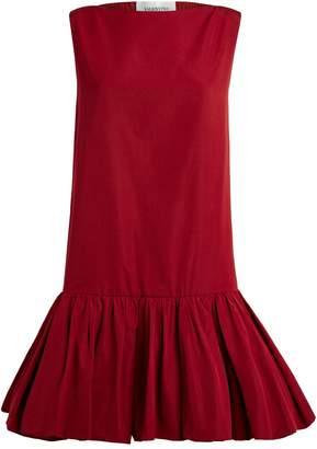 Valentino Frill Trim Mini Dress