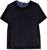 Vince Velvet T-shirt - Midnight blue