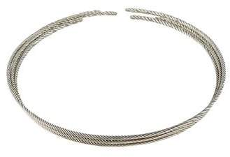 David Yurman Diamond Willow Collar Necklace