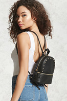 Forever 21 FOREVER 21+ Studded Faux Leather Backpack
