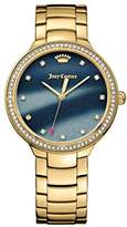 Juicy Couture Women's 'CATALINA' Quartz Stainless Steel Casual Watch, Color:Gold-Toned (Model: 1901508)