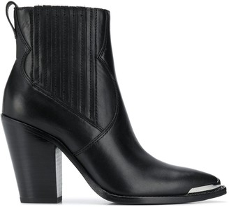 Ash Bang heeled leather boots