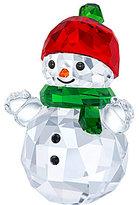 Swarovski Crystal Snowman Figurine