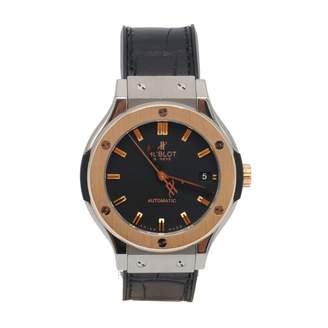 Hublot Classic Fusion Black gold and steel Watches