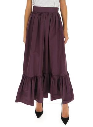 Valentino Ruffled Maxi Skirt