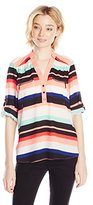 My Michelle Junior's Stripe Tunic Shirt with Pocket
