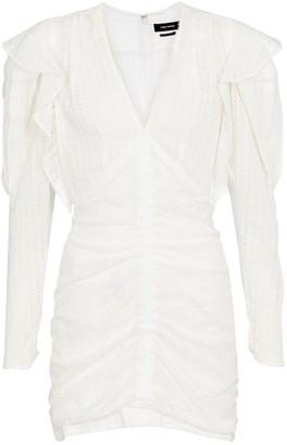 Isabel Marant Getya cotton-blend minidress