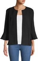 Saks Fifth Avenue Bell-Sleeve Open Front Jacket
