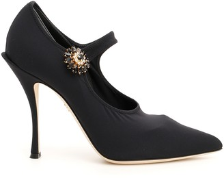 Dolce & Gabbana Stretch Lori Mary Jane Pumps