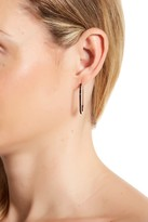 Rebecca Minkoff Pave Safety Pin Earrings