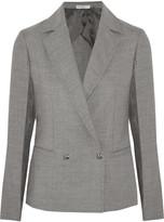 Barbara Casasola Double-breasted wool-blend blazer