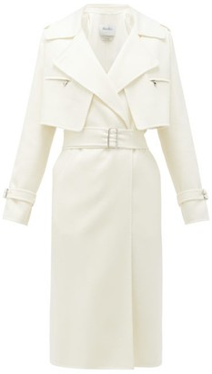 Max Mara Gianna Coat - Womens - White