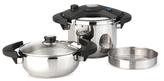 Berghoff Eclipse Pressure Cooker Set (5 PC)