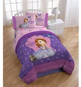 Disney Sofia The First Graceful Reversible Twin/Full Comforter