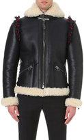 Lanvin Vintage Shearling Flight Jacket