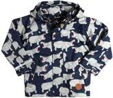 Mini Rodini Hippo Waterproof Windbreaker Jacket