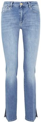 Frame Le Mini Boot light blue jeans