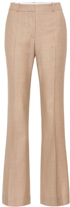 Victoria Beckham Wool high-rise flared pants