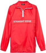 Andrea Crews Straight Edge wind breaker jacket