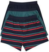 M&Co Cotton jersey boxers three pack