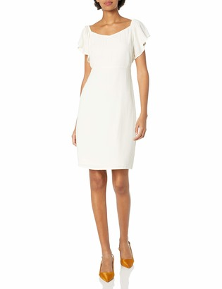 Paris Sunday Women's Flutter Sleeve Dress