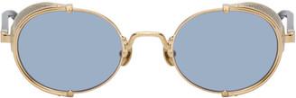 Matsuda Gold 10610H Sunglasses