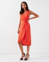 Star by Julien Macdonald D Ring Jersey Dress
