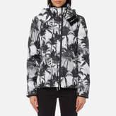 Superdry Women's Black Edition Windcheater Jacket
