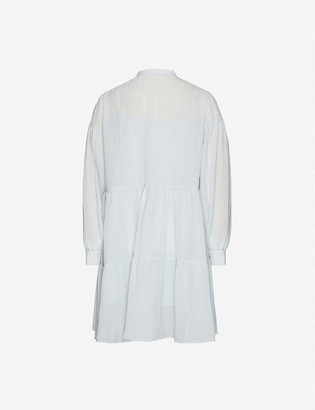 Samsoe & Samsoe Margo crepe mini shirt dress