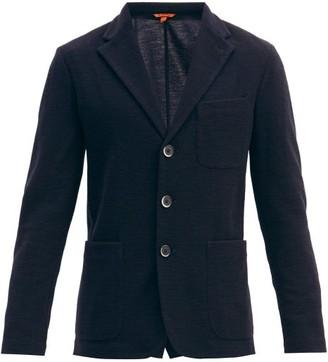 Barena Torcea Single-breasted Wool-blend Blazer - Navy
